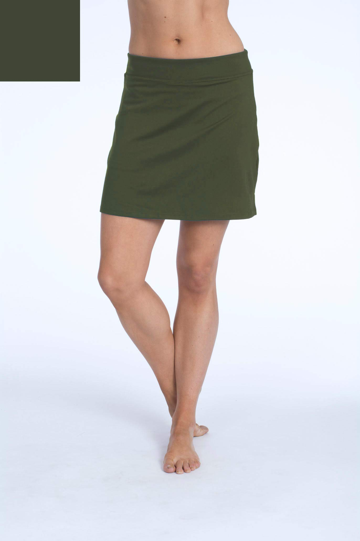 Colorado Clothing Women's Everyday Skort, Army Green, X-Small