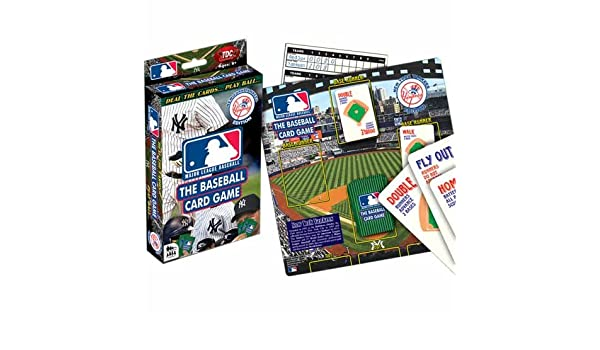 Tdc Games Mlb Baseball Card Game Yankees Amazonca Toys