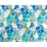Blue And Green Stained Glass 3460213 Window Film (4 Rolls)