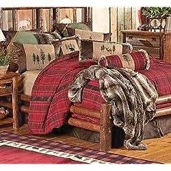 Highlands Cabin Bed Set - King - Rustic Bedding