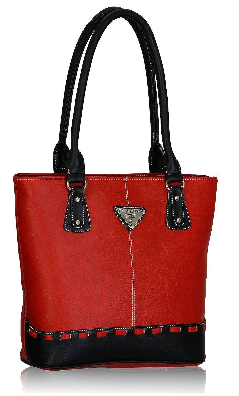 Fantosy Women s Handbag (Red and Black) (FNB-318)  Amazon.in  Shoes    Handbags b290f6cd0a