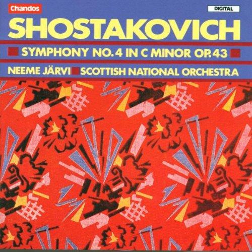 Risultati immagini per shostakovich chandos symphony 4