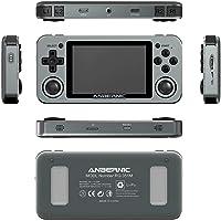 ReallyPow Anbernic RG351M Handhållen arkadspelkonsol, retro spelkonsol med 2500 klassiska spel, aluminiumlegering skal…