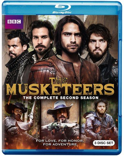 Blu-ray : The Musketeers: Season Two (3 Pack, 3 Disc)