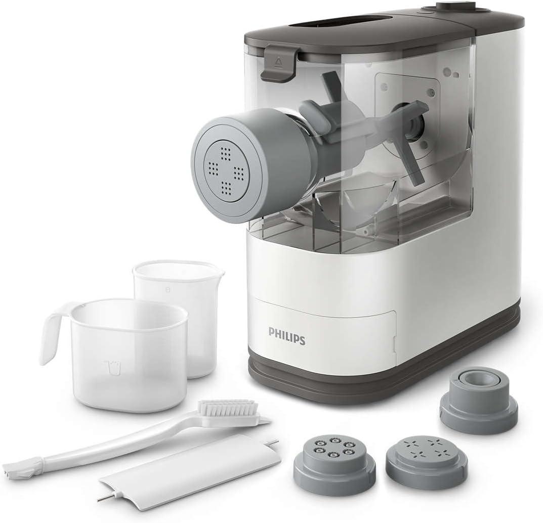 Philips Máquina de Hacer Pasta y Fideos HR2333/12, 150 W, 0.45 kg ...