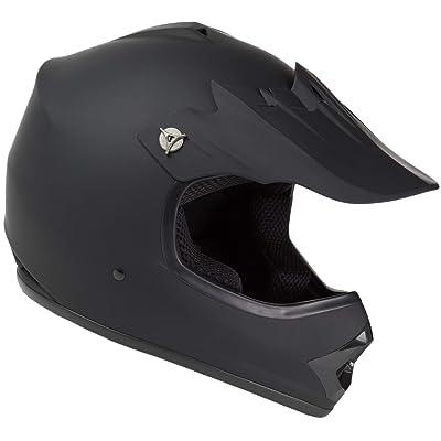 Raider GX3 Unisex-Child MX Off-Road Helmet (Black, Youth Small): Automotive