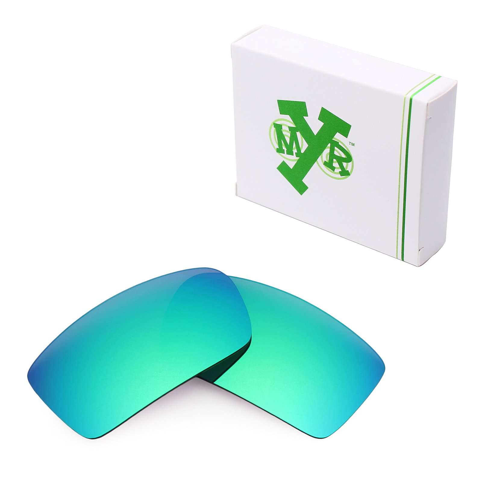 Mryok Polarized Replacement Lenses for Oakley Gascan - Emerald Green by Mryok