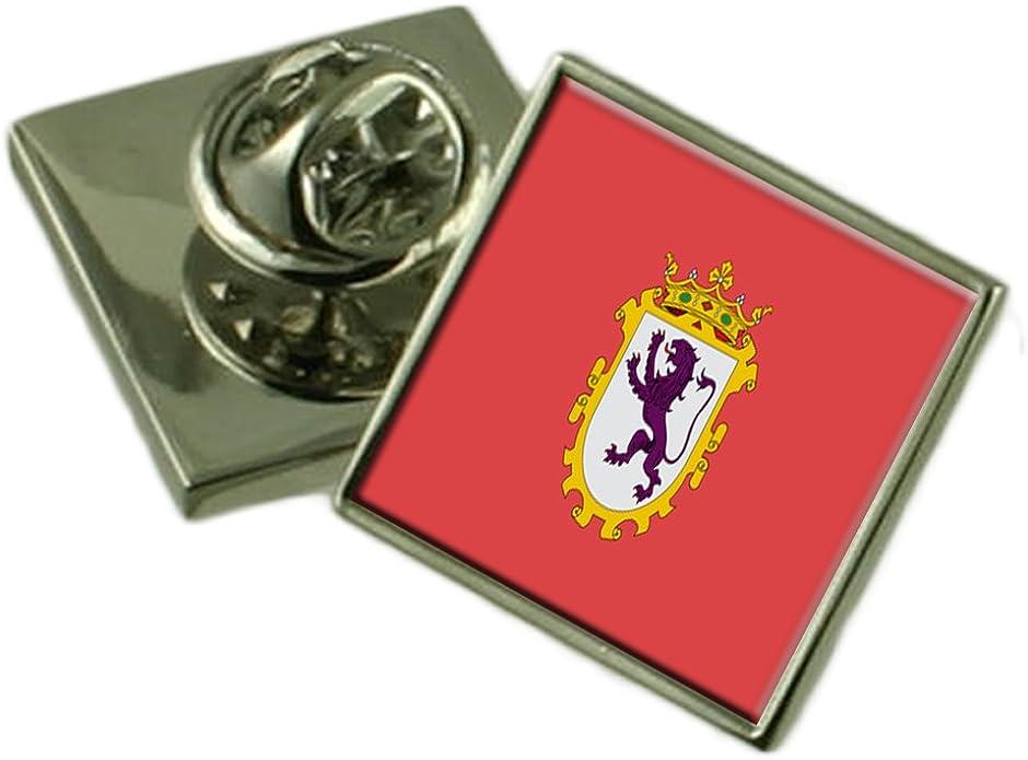 Select Gifts Ciudad de León España Bandera Insignia de Solapa Cuadro Grabado: Amazon.es: Joyería