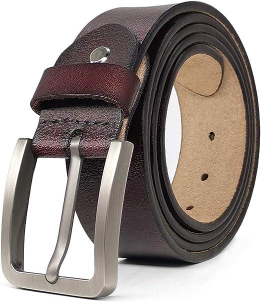 Black // Brown 30/'/' to 64/'/' MEN/'S LEATHER BELT 100/% GENUINE waist sizes