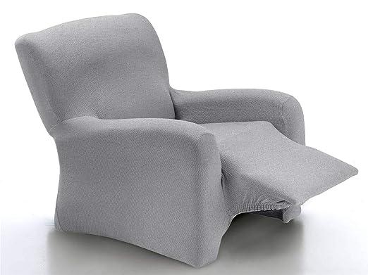 CAÑETE - Funda sillón Relax Completo Noa - Color Plata ...