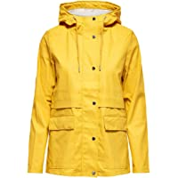 Only Onltrain Short Raincoat Otw Noos impermeable para Mujer