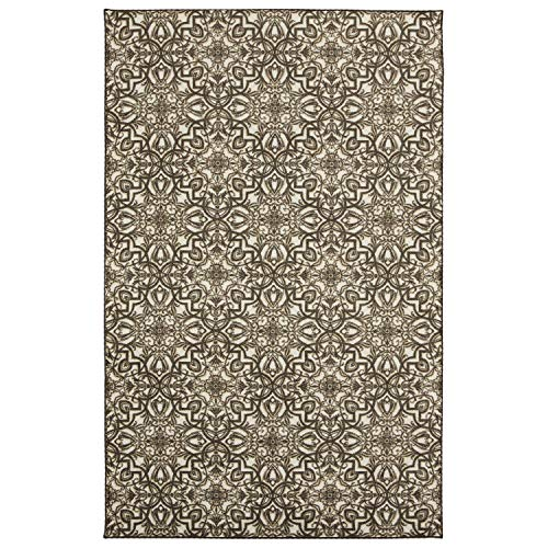Mohawk Home Amstel Brown Area Rug, 5 x8 ,