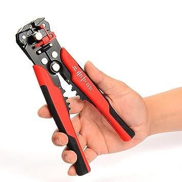 Amazingdeal365 3 en 1 alambre automático del alambre que aprieta el alicate que prensa el pinzador autoajustable: Amazon.es: Electrónica