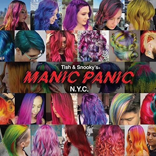 Manic Panic Semi-Permanent Hair Color Cream, Vampire Red 4 oz (Pack of 2)