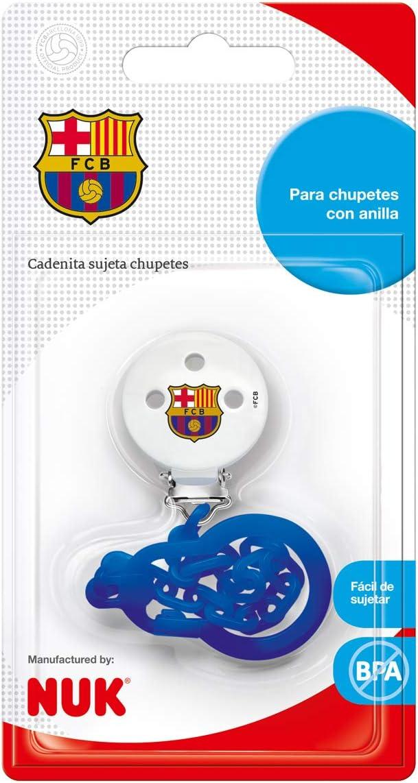 coraz/ón color rojo NUK 10256486 NUK 1 unidad sin BPA Cadena para chupete con clip