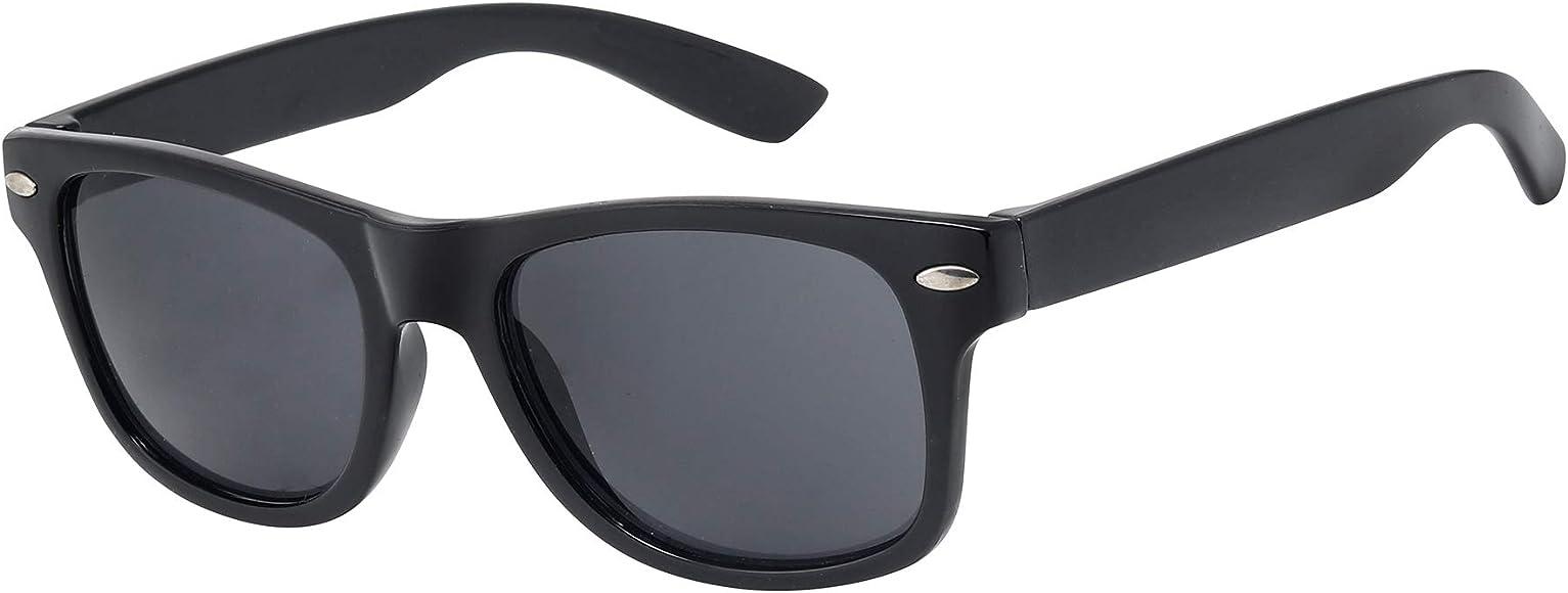 Kids Sunglasses Girls Boys Children Classic 80s Retro Style Shades UV 400 Protection
