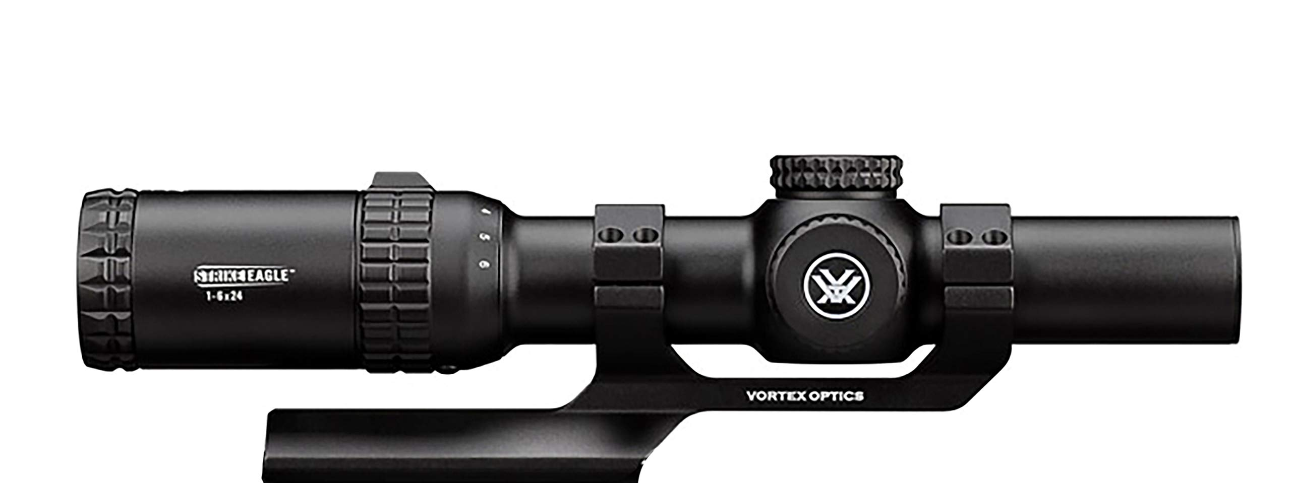 Vortex Optics Strike Eagle 1-6x24 Second Focal Plane Riflescope - BDC Reticle (MOA) with Sport Cantilever 30mm Mount - 2-Inch Offset by Vortex Optics