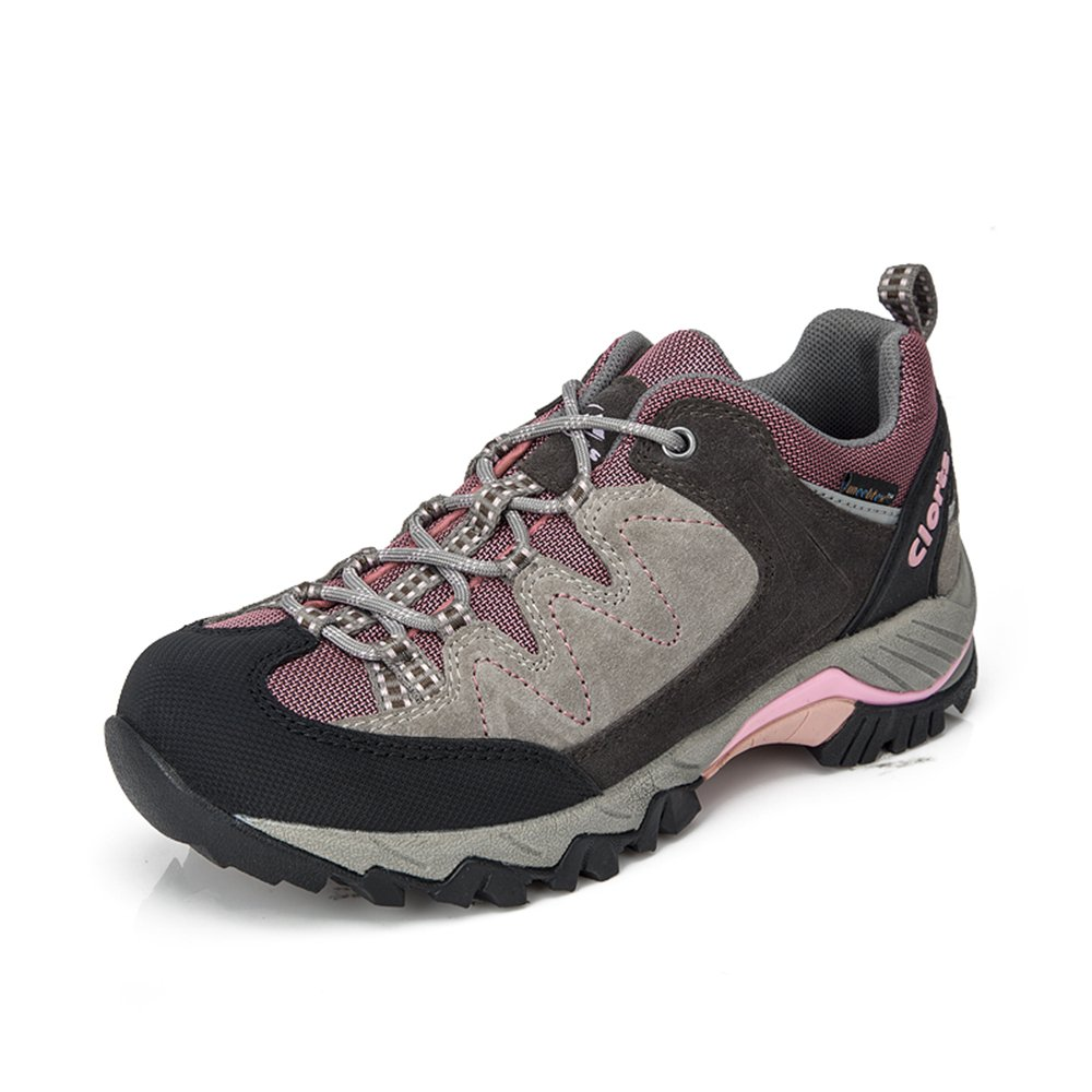 Clorts Women's Suede Hiking Shoe Waterproof Trail Shoe HKL806J B00NBTGHBI 8.5 B(M) US|Purple