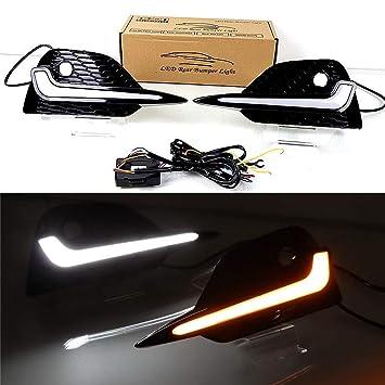 Amazon.com: July King - Luz LED diurna para Nissan Qashqai ...