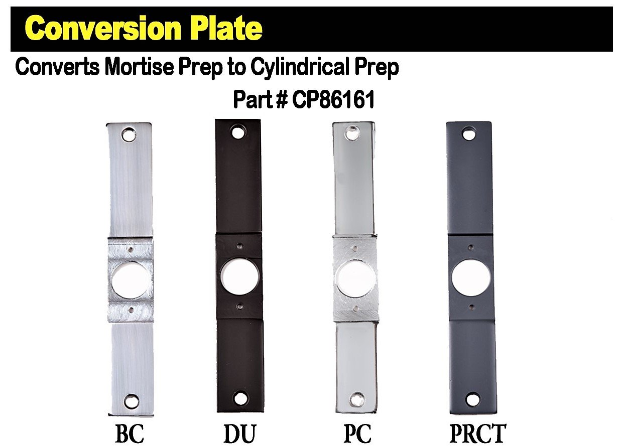 Conversion Plate (Prime Coat)
