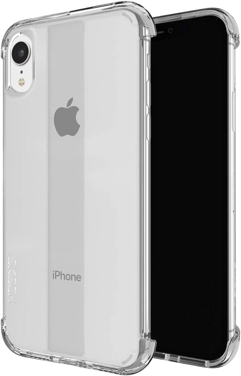 Skech Stark Minimal Naked Shockproof Protective Case for Apple iPhone XR Clear