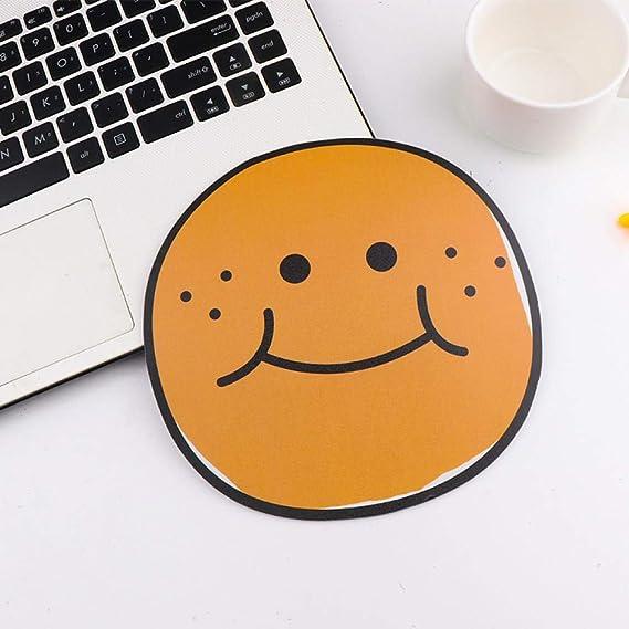 Cute Emoji Love Mouse Pad-Amarillo: Amazon.es: Electrónica