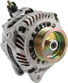 DB Electrical AMT0146 New Alternator For Mitsubishi 2.4L 2.4 Lancer Outlander 04 05 06 2004 2005 2006 A3TG1192 A3TG3491 113782 1800A064 MN183450 1-2816-01MI 11055