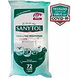 Sanytol Toallitas Desinfectantes Multiusos, 72un