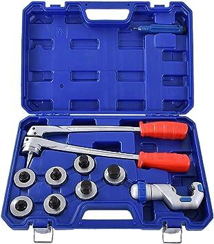 acero port/átil Expansor de tubos manual Expansor de estampado de tubos Herramienta de expansi/ón manual Tubo de herramientas Expansor Tubo Expandir Expansor de tubos