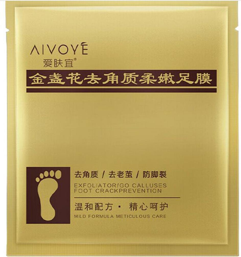 Beauty top Hot rimuovere pelle morta cuticole Foot Mask peeling piedi Heel Care anti invecchiamento