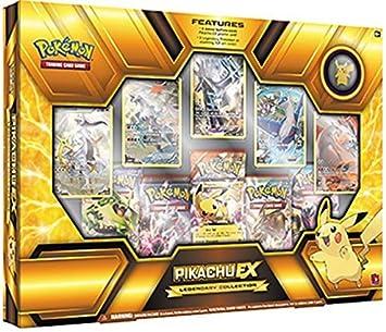 Pokemon TCG Pikachu Ex. Legendaria caja de colección Premium sellada: Amazon.es: Juguetes y juegos