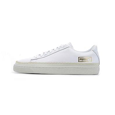 Puma Basket Trim Metallic WN's (weiß/Gold): Amazon.de: Schuhe ...