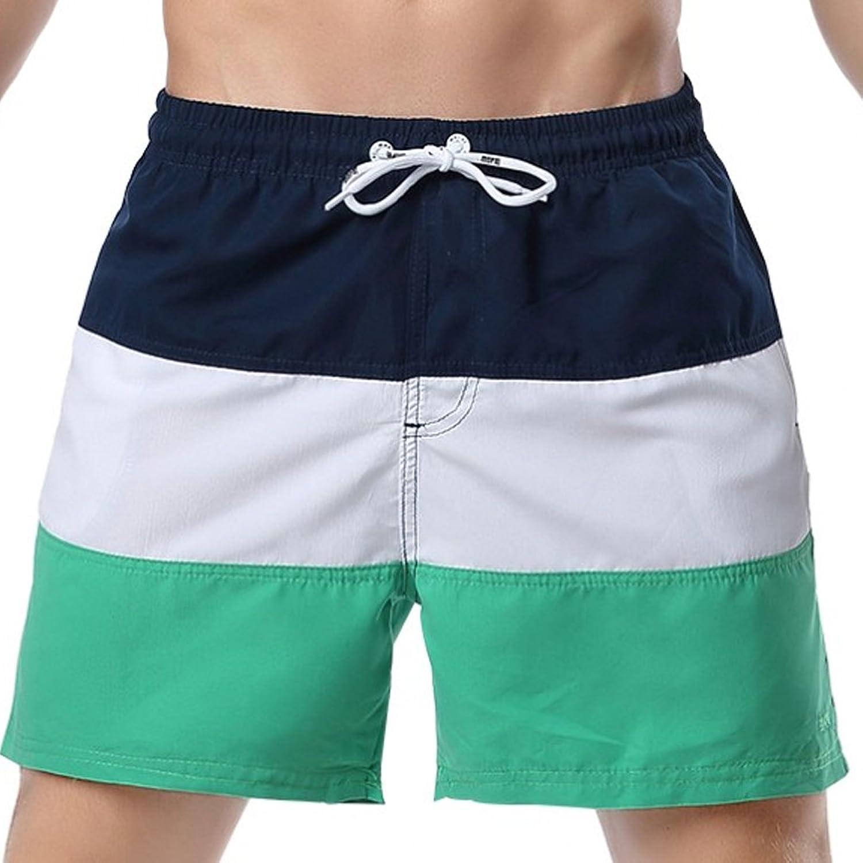 LSHEL Bañador Traje de Baño Pantalones Cortos para Hombre de Natación Playa Piscina aJEW6NtCU