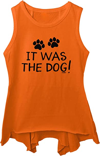 It was The Dog! Blame Pet Funny Toddler//Youth Sleeveless Backswing
