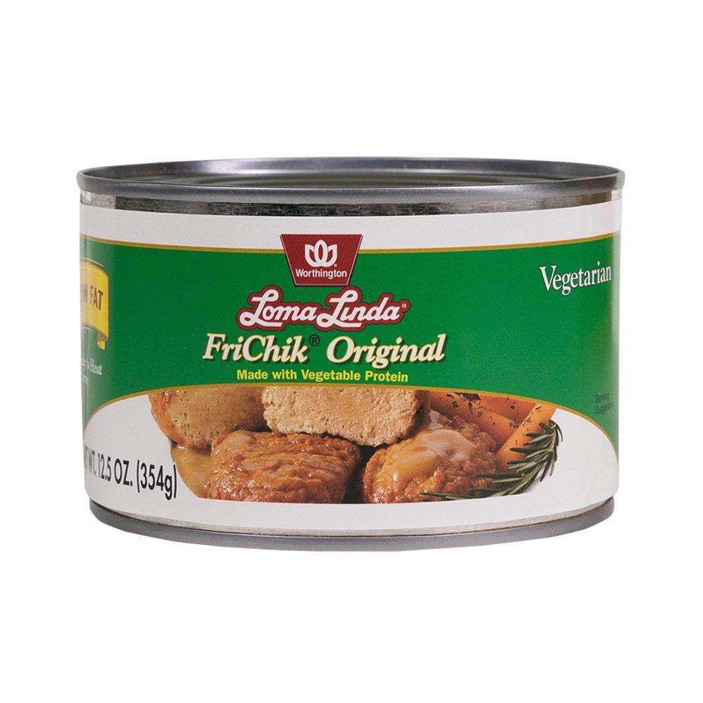 Loma Linda - Plant-Based - Low Fat FriChik (12.5 oz.) - Kosher
