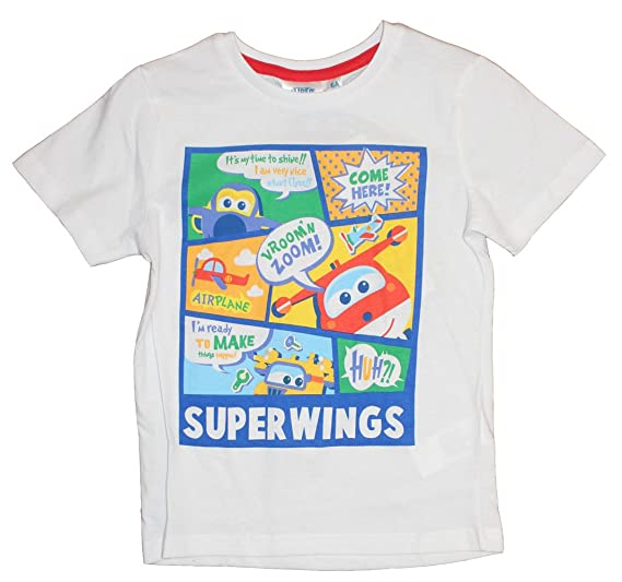 Ragazzo Super Wings Maglia a Manica Lunga