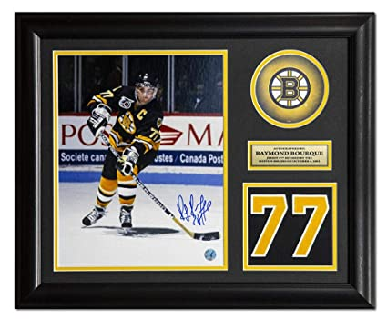 Image Unavailable. Image not available for. Color  Ray Bourque Autographed  Jersey - Raymond Retired Number 23x19 Frame - Autographed NHL Jerseys 199faf487