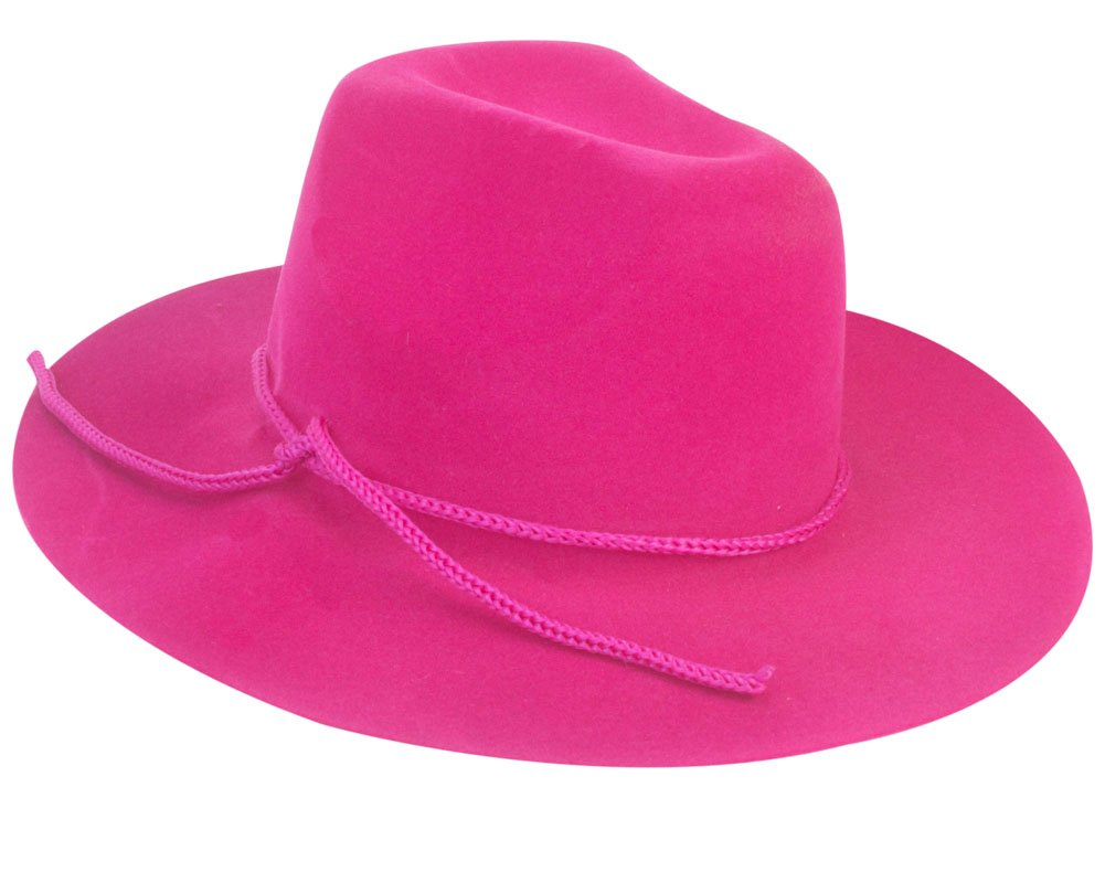 e8b5bebfd1e ... Hot Pink Cowgirl Doll Hat for the 18 Inch Doll Clothes for the Horse  Riding American ...