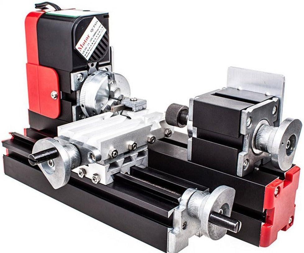 Chuangsheng mini lathe machine 12 v miniature metal lathe
