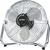 High Velocity Floor Fan Size: 10 H x 24 W x 24 D