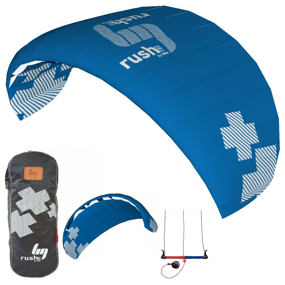 HQ Rush V Pro 300 Trainer Kite 3M 3-Line Kiteboarding Power Traction Snow Surf by ATB
