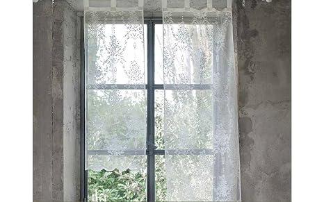 Blanc Mariclo\' Tenda Porta Finestra Serie Annabel 80x220 CM: Amazon ...