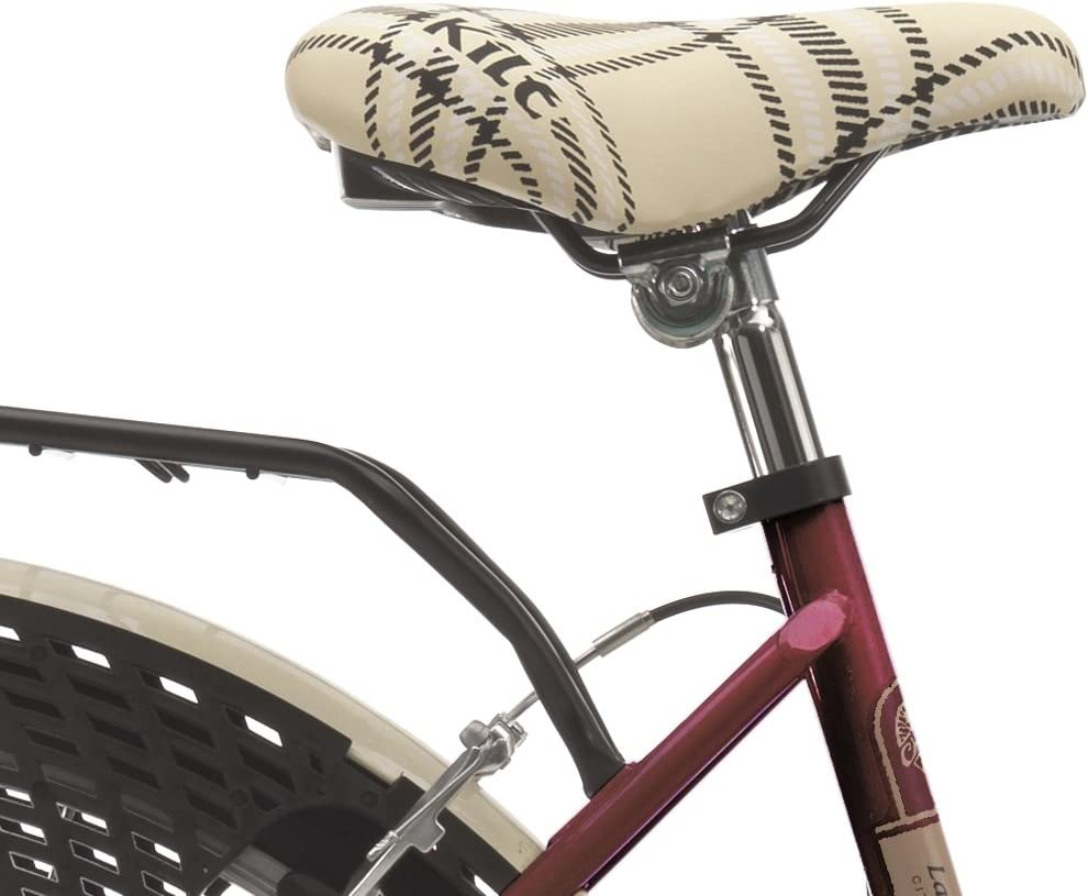 Bicicleta cicli Cinzia decoville Mujer, marco de acero, 6 ...