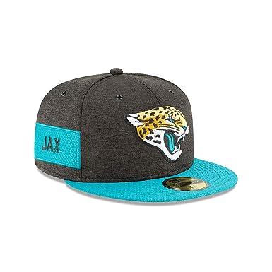 5ba420d71f4 New Era Jacksonville Jaguars NFL Sideline 18 Home On Field Cap 59fifty  Fitted OTC