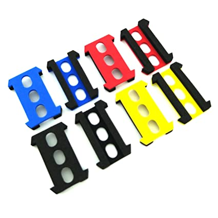 WOSKY RC 8pcs Foam Battery Compartment Adaptors for FPV JJRC H36 ...