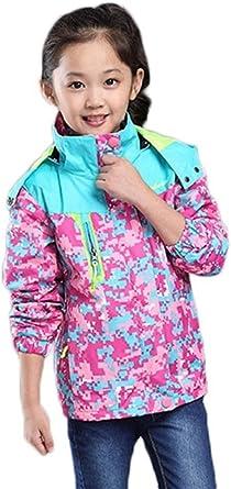 Ausom 2017 Child Outdoor Cashmere Warm Waterproof Windproof Hood Jacket