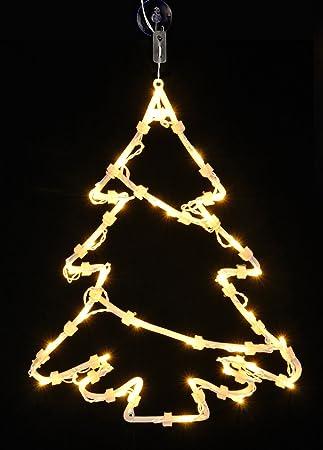 Led Weihnachtsdeko Fenster.Ld Weihnachten Deko Led Fensterbild Beleuchtet 3 Motive