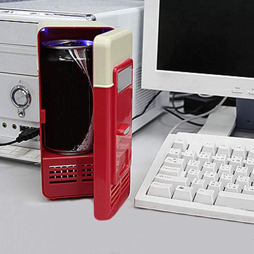 Frigo Piccolo per Auto,Barca,Casa e Ufficio Frigo Elettrico Portatile Futurepast Mini frigo per Auto USB