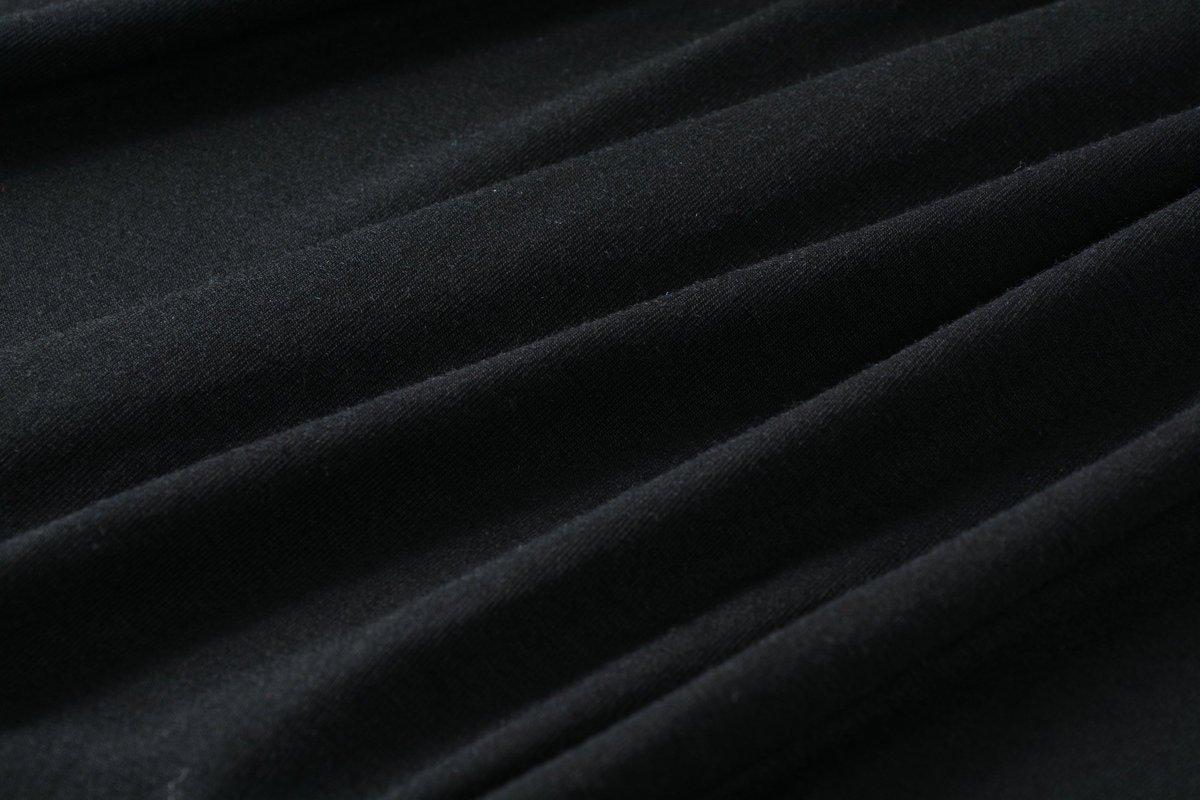 LARACE Lanmo Women Plus Size 3/4 Sleeve Tunic Tops Loose Basic Shirt (2X, Black)