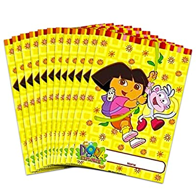 Dora The Explorer and Boots Party Gift Bag Loot ( 2 Sets of 8 ) 16 Treat Bags Nick Jr Nickelodeon Birthday: Everything Else
